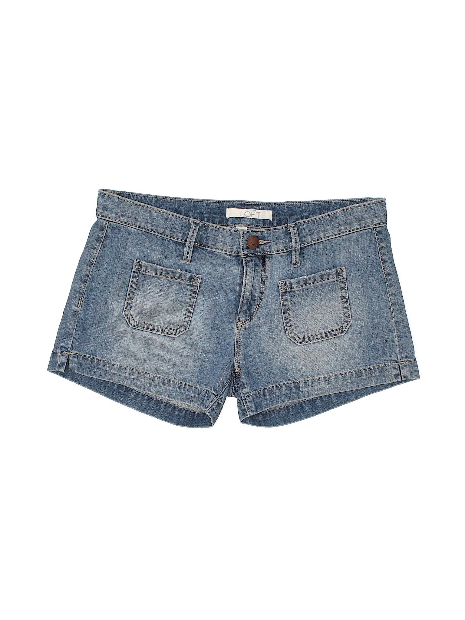 Ann Taylor Denim Boutique Shorts LOFT 0CqdHPd