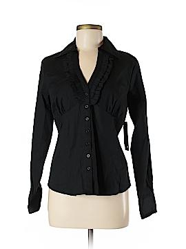 Katherine New York Long Sleeve Button-Down Shirt Size M