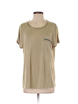Elie Tahari Short Sleeve T-Shirt Size L