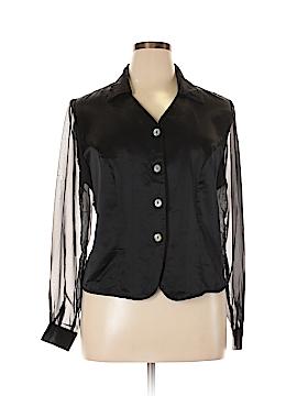 Avenue Long Sleeve Blouse Size 14 (Plus)