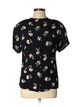 Rena Rowan Short Sleeve Blouse Size 8