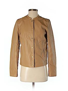 Promod Faux Leather Jacket Size 4