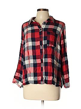 Cj Banks Long Sleeve Button-Down Shirt Size 0X (Plus)