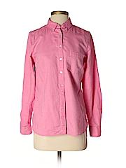 Gap Women Long Sleeve Button-Down Shirt Size S