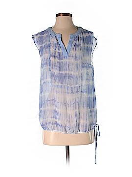 Simply Vera Vera Wang Short Sleeve Blouse Size S