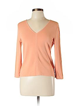 Linda Allard Ellen Tracy Long Sleeve Top Size L (Petite)