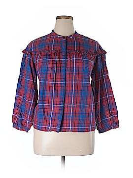 Madewell Long Sleeve Button-Down Shirt Size XL