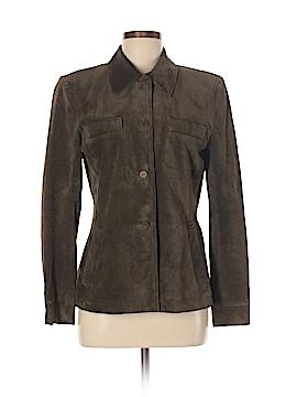 Emanuel Ungaro Liberte Leather Jacket Size 8