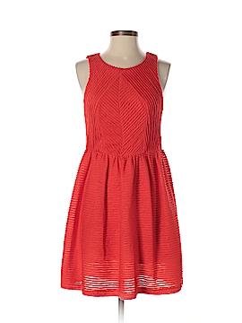 Bordeaux Casual Dress Size M (Petite)