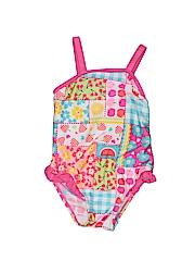 WonderKids Girls One Piece Swimsuit Size 12 mo