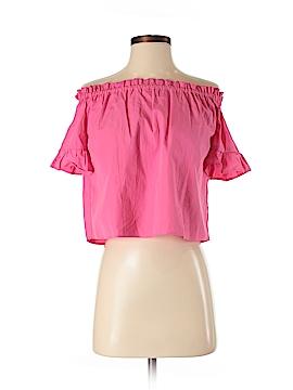 Pull & Bear Short Sleeve Blouse Size XS