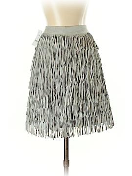 White House Black Market Faux Leather Skirt Size 4