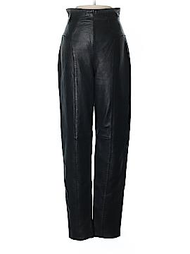 Michael Hoban Leather Pants Size 5 - 6