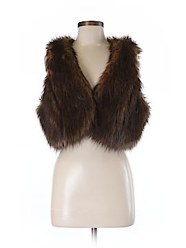 INC International Concepts Faux Fur Jacket Size M (Petite)