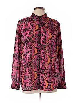 L'Amour Nanette Lepore Long Sleeve Blouse Size XL