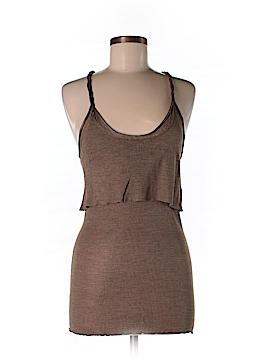 Inhabit Sleeveless Silk Top Size M