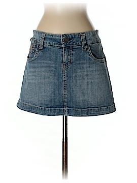 Hydraulic Denim Skirt Size 9/10