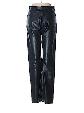 Gap Leather Pants 28 Waist