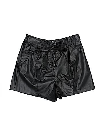 10 Crosby Derek Lam Leather Shorts Size 10
