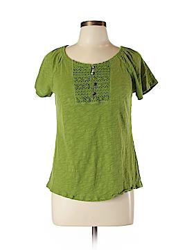 Lizwear by Liz Claiborne Short Sleeve Henley Size L