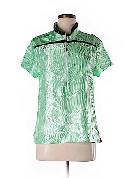 Jamie Sadock Short Sleeve Blouse Size M