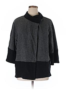 JM Collection Wool Cardigan Size 1X (Plus)