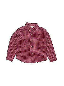 B.T. Kids Long Sleeve Button-Down Shirt Size 4T