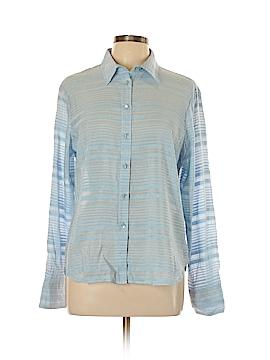 STETSON Long Sleeve Button-Down Shirt Size L