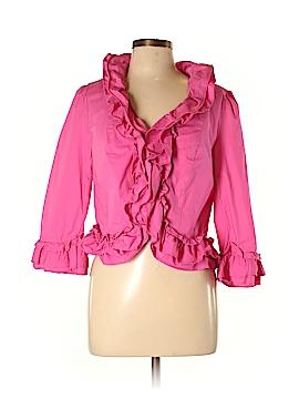 INC International Concepts 3/4 Sleeve Button-Down Shirt Size L