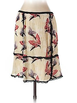 Max Studio Silk Skirt Size S