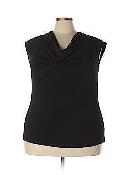 Kasper Short Sleeve Top Size 2X (Plus)
