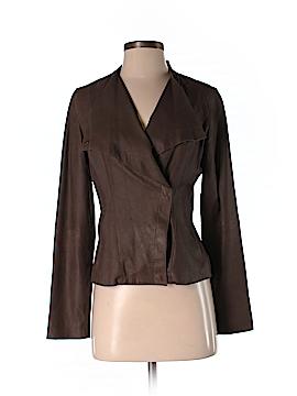 Etcetera Leather Jacket Size 2