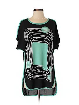 Patrizia Luca Short Sleeve Blouse Size XS