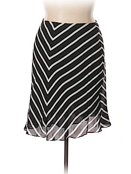 Lauren by Ralph Lauren Silk Skirt Size 14