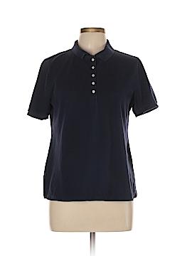 Croft & Barrow Short Sleeve Polo Size L (Petite)