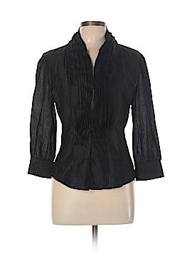 Lapis 3/4 Sleeve Blouse Size L
