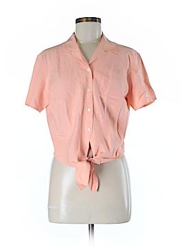 Tommy Bahama Short Sleeve Silk Top Size 8