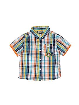 Boyz Wear By Nannette Short Sleeve Button-Down Shirt Size 24 mo