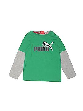 Puma Long Sleeve T-Shirt Size 5