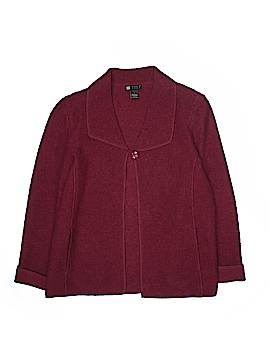 Carole Little Wool Cardigan Size L