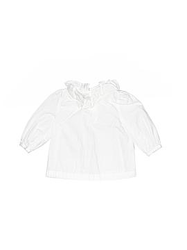 Janie and Jack Long Sleeve Blouse Size 3-6 mo