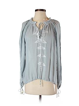Melissa Odabash Long Sleeve Blouse Size S