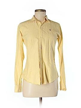 Ralph Lauren Long Sleeve Button-Down Shirt Size 6