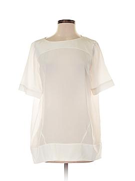 Hilton Hollis Short Sleeve Blouse Size M