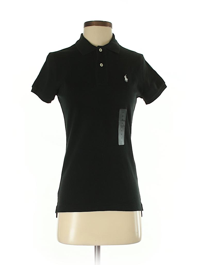 Ralph Lauren Women Short Sleeve Polo Size S