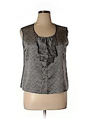 Talbots Women Sleeveless Blouse Size 16 (Petite)