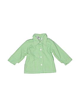 Happy Fella Long Sleeve Button-Down Shirt Size 12 mo