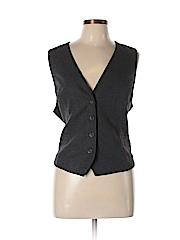 J.jill Women Tuxedo Vest Size L (Petite)