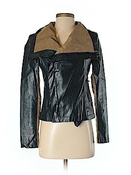 Akira Chicago Black Label Faux Leather Jacket Size M