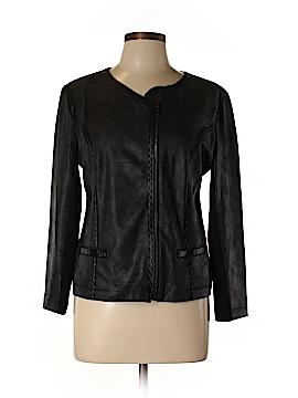 Style&Co Faux Leather Jacket Size L (Petite)
